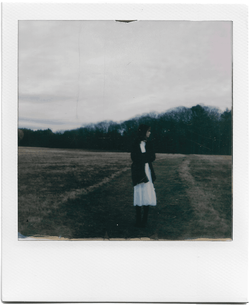 Running Away Polaroid